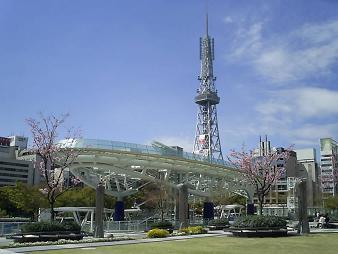 オアシス21とテレビ塔.JPG