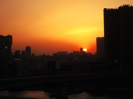 3月の夕焼け036