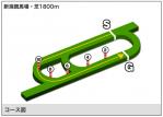 新潟 芝1800mコース図