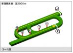 新潟競馬芝2000mコース図