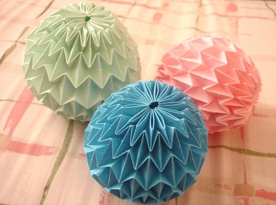 折り紙の マジックボール 折り紙 : 777dream777.blog.fc2.com