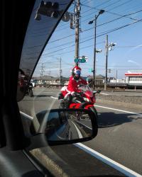 サンタクロース?