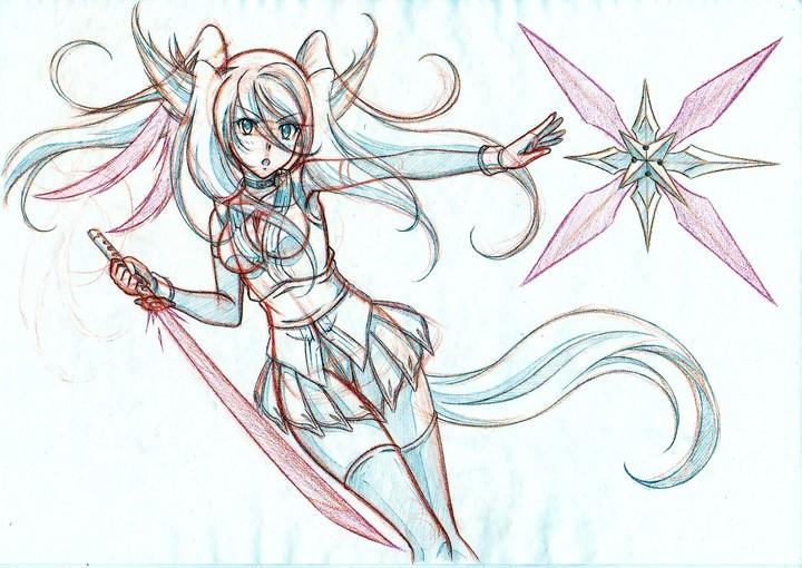 幻獣騎士リゼリア(大)
