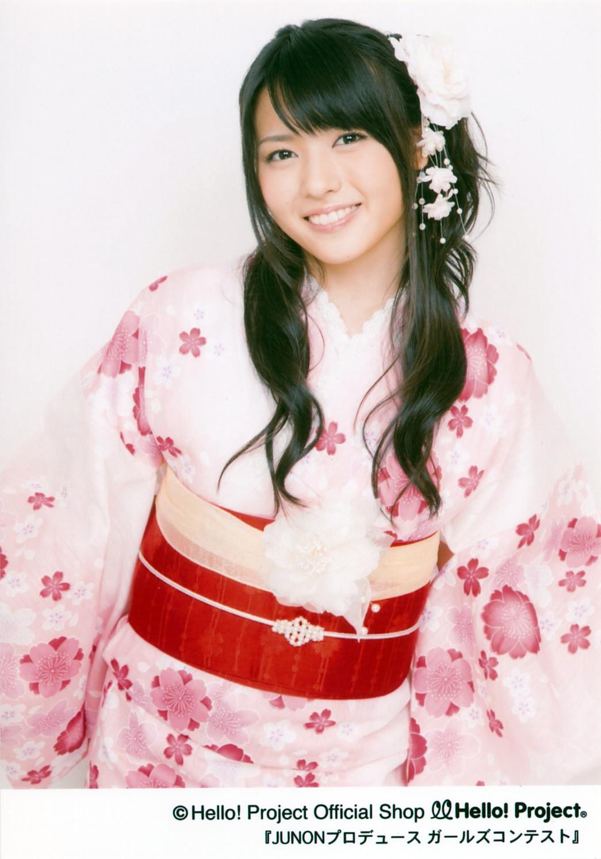 桜の浴衣 矢島舞美