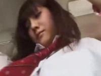 痴漢巴士中出女高中生 美綱玲