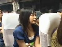 恥感痴漢 被害者FILE01 夜行バスで帰省するウブな娘