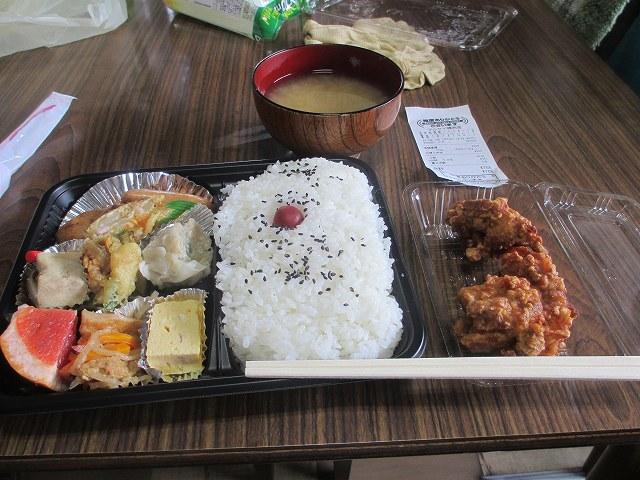 平成25年7月1日・昼食・マルケイ精肉店