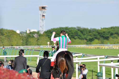 120512ウィリアムズ騎手