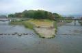 加茂大橋から見た三角州