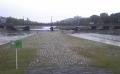 この先が三角州の先端・向こうは加茂大橋