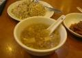 スープと炒飯
