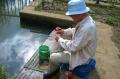 釣をする人