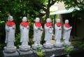 泊船寺の地蔵