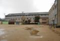 母校の校庭