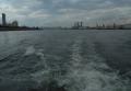 船から見る大阪港