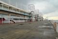 天保山埠頭の倉庫街