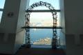 北東・天保山大橋と大観覧車