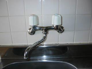 水栓 交換前