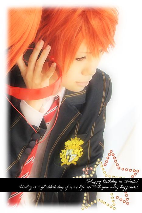 Happy birthday dear Naito☆2012