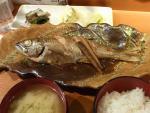 虎ノ門 鯨の胃袋 夜定食(魚煮付け定食(黒むつ))