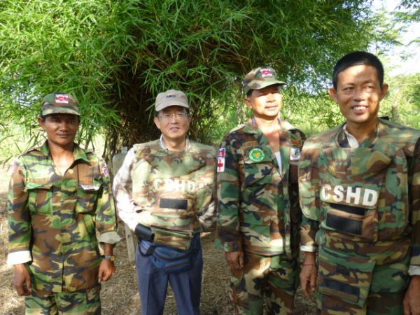 副隊長のサンボーさん達と私