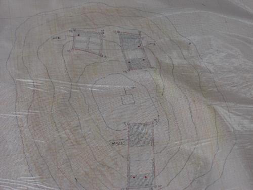 地雷撤去エリア地図