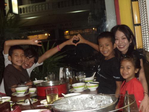 千草さんと4人の子供達