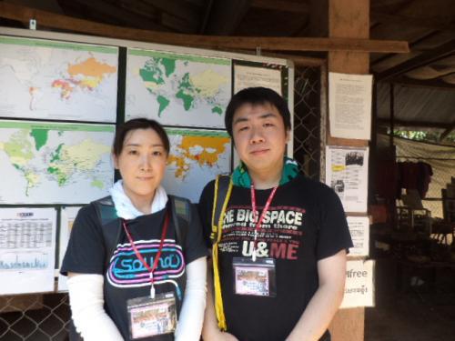 秋田の坂田夫妻