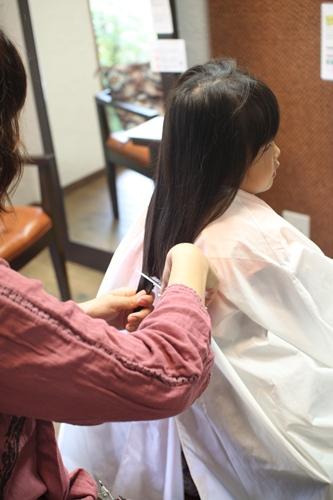 髪カット2