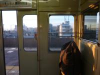 山電「人丸前」駅
