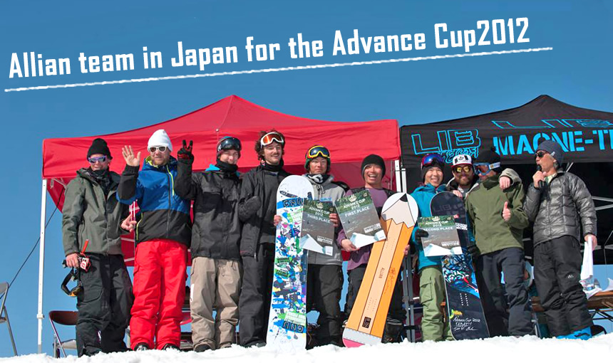 Allian team in Japan for the Advance Cup2012