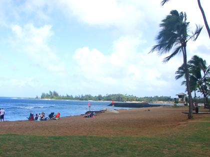 ハワイ ハレイワ アリイ ビーチパーク
