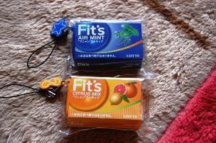 Fit'sのフニャンストラップ