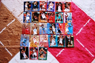 NBAカード27枚セット