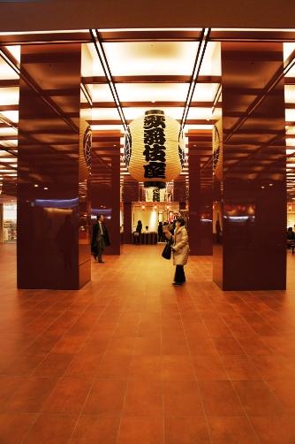 歌舞伎座地下正面