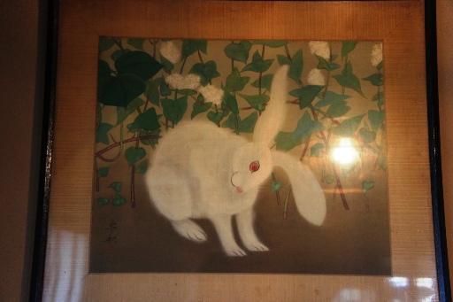 201303上野・兎の絵