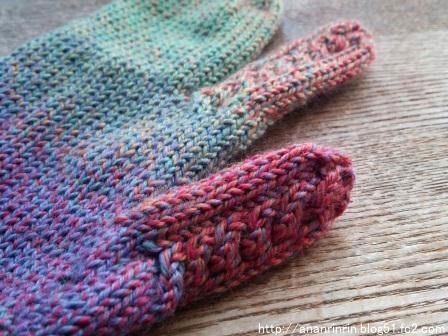 ミツマタ手袋4