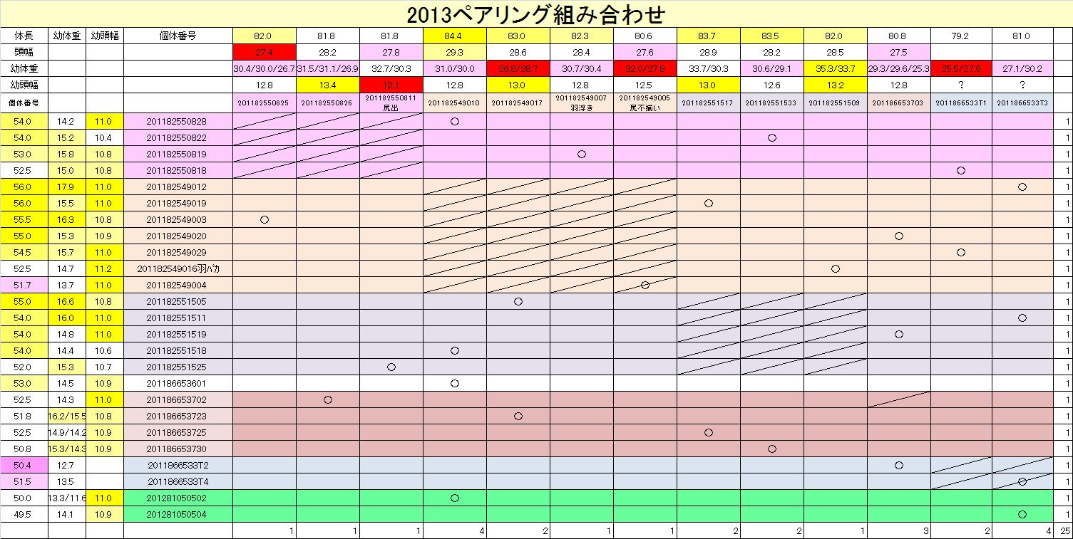 2013-14 ペアリング