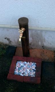 水洗柱作り (1)