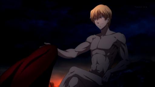 sm18176598 - 【Fate/Zero】25話 ギルと綺礼のシーン