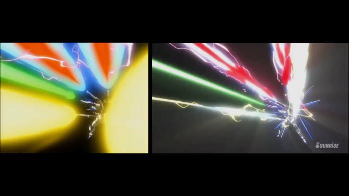sm18527243 - フリーダムガンダム 戦闘比較