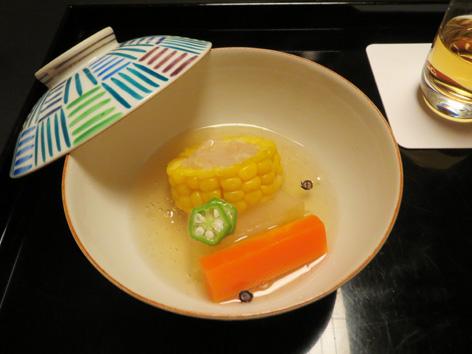 トウモロコシ饅頭1