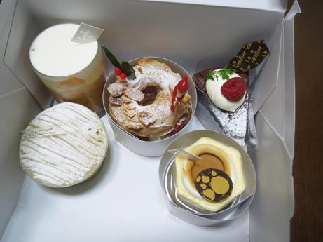 ル バニーエのケーキ2