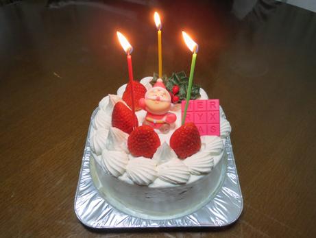 3クリスマスケーキ