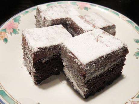 2013 1 14チョコケーキ