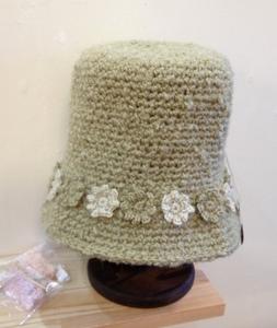 帽子 お花