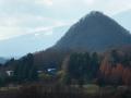 青葉山から見る大白山と蔵王