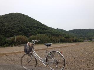 吉備路自転車写真