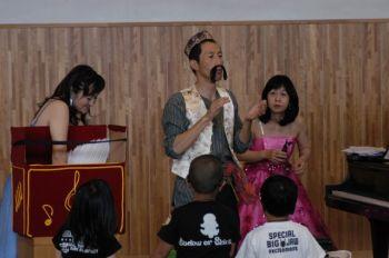福島ろう学校公演