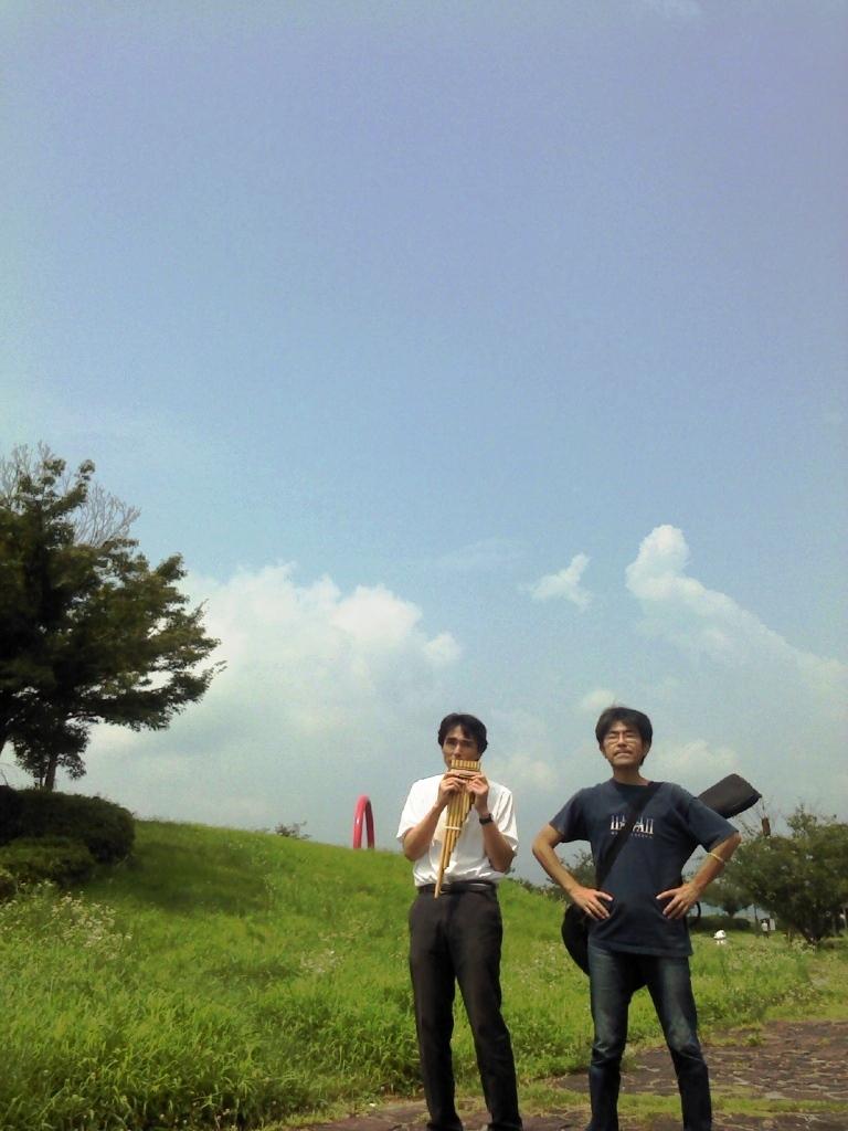 錦坂 on 玖珂島田川公園